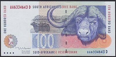 SOUTH AFRICA 100 Rand ND (1999) AA 6334643 Pick 126b UNC