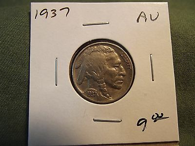 1937 AU Buffalo nickel,  see our store for many more coins