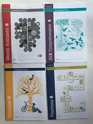 Maths & English Home Learning workbooks pack Children Age 9-11 years, New Letts