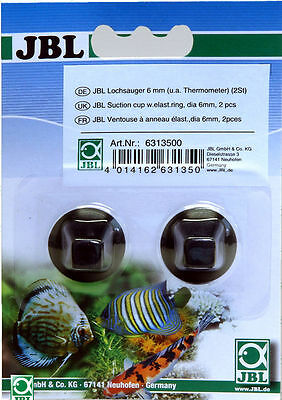 JBL Suction cup w.elast.ring, dia 6mm, 2 pcs part nr 631350