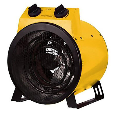Brand New Zante Industrial Drum Fan Heater Cooling Ventilation Splashproof 2000W