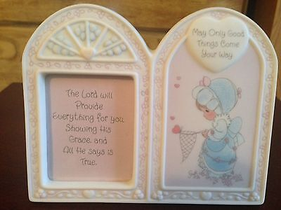 "1998 Precious Moments ""May Only Good Things Come Your Way"" Picture Frame"