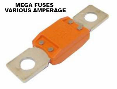 Mega Fuse Automotive Car Van Boat Truck 100A  150A 175A 200A 250A 300 Amps Fuse