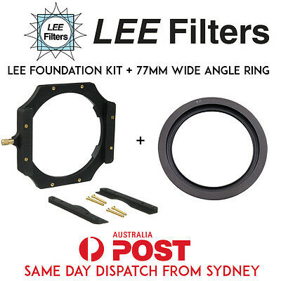 "LEE Foundation Kit + LEE 77m Wide Angle Adapter Ring for 100mm 4x4"" System"