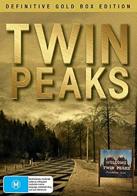 TWIN PEAKS DVD Definitive Gold Box Complete Series 1-2 Boxset 10 Discs NEW