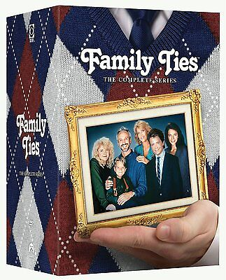 FAMILY TIES  Season 1-7 Complete Series 1 2 3 4 5 6 7 Collection Box Set NEW DVD