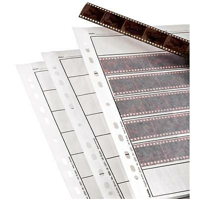 Hama 35Mm Negative Storage Pages 2250 For Ringbinder Pack 25 Sheets Neg Sleeve