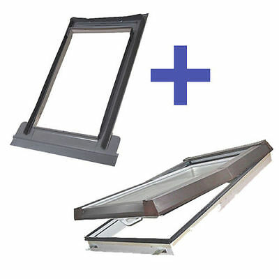 SKYLIGHT Dachfenster 55x78 66x118 78x118 78x140 94x140 114x140 78x98 cm