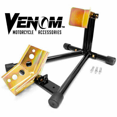 MOTORCYCLE BIKE FRONT WHEEL LIFT STAND CHOCK For YAMAHA HONDA KAWASAKI SUZUKI