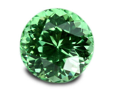 1.05 Carats Natural Merelani Mint Garnet Loose Gemstone- Round