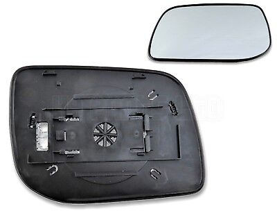 Land Rover Range Rover-II P38 Left Side (Passenger) Heated Door Mirror Glass