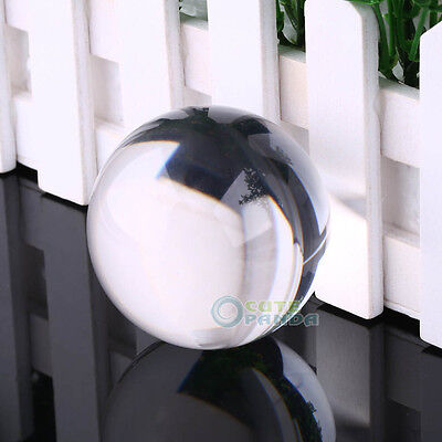 90mm Feng Shui Clear Crystal Acrylic Ball / Contact Juggling Collection/Gift New
