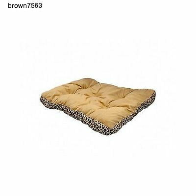 Rectangular Leopard Print Pet Bed Dogs Cats Soft Durable Wholesale Lot of 6