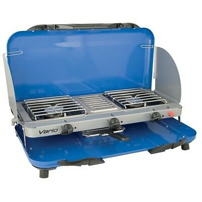 NEW CAMPINGAZ CAMPING CHEF VARIO GRILL & STOVE portable cooker coleman 200009653
