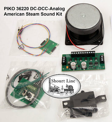 G SCALE PIKO 36220 DCC & Analog American Steam Sound & Motor Decoder Kit LGB NEW