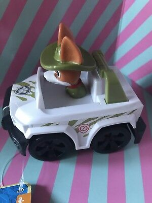 New PAW Patrol Rescue Racers Tracker Jungle Pup Approx 8cm Last One
