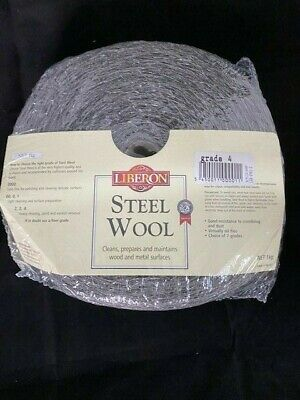 Liberon 1Kg Extra Coarse Grade 4 High Quality Steel Wire Wool