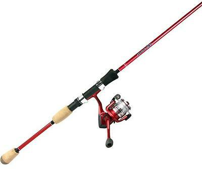 """Okuma Red Fin Chaser Rod & Reel Combo Medium 6'6"""" 2 Pc NEW With Line"""