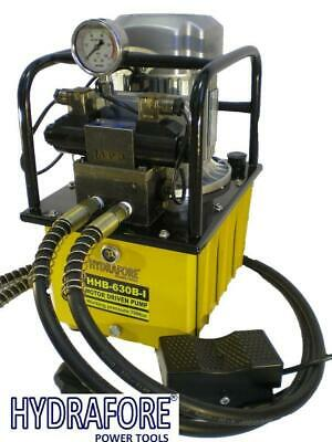 Electric Driven Hydraulic Pump 10000 PSI (Double acting solenoid valve) B-630B-I