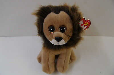 NEW Ty Beanie Babies Collection CECIL The Lion In Memory of Zimbabwe Lion Killed