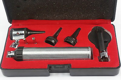 ENT Opthalmoscope Otoscope  Diagnostic conventional Auriscope examination set
