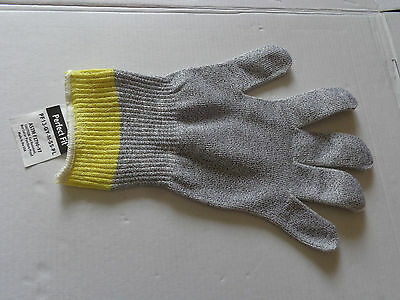 Tuffshield Cut Resistant Glove Sspf13 Medium Yellow  Cut Level 5 Made In Usa