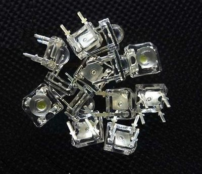 50 pcs 5mm 4pin Piranha LED Blue Super Bright LED light NEW
