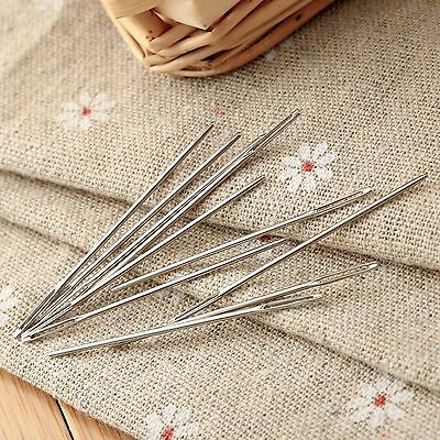 5Pcs 48mm Darning Needle Large Eye Embroidery Tapestry Needle for Sewing Crafts