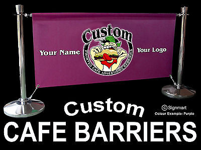 Cafe barrier Club BAR Pub Crowd Control  FREE design Fast Delivery Cafe Barriers
