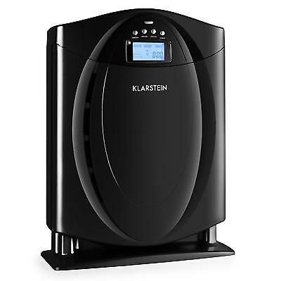 Grenoble Air Purifier By Klarstein with 4-in-1 Filter inc. Remote Control Black