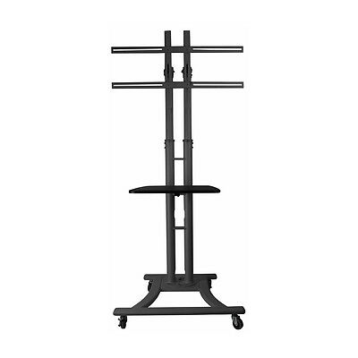 LCD/Plasma Trolley With Shelf - Small [PLASTR-S] TV & Monitor Floor Stand