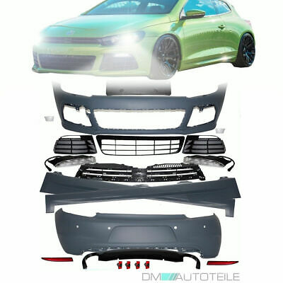 VW Scirocco MK3 FULL Bodykit R 20 Optik Sport Bumper Front Rear Side Skirts LED