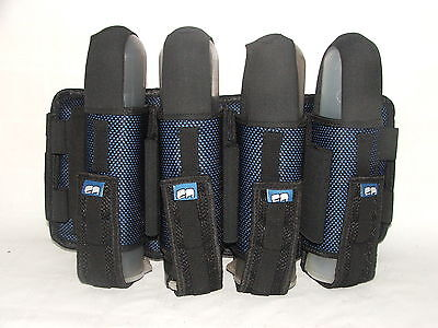 Laysick Magnetic PRO Paintball Harness 4+3 SKY Blue