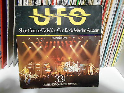 """Ufo """" Shoot Shoot"""" 7"""" Limited Edition In Clear Ninyl"""