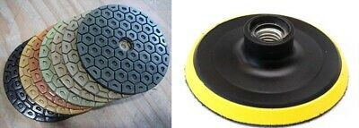 Diamond Polishing Pads 7 inch Wet/Dry 28+1 Piece Granite Stone Concrete Marble