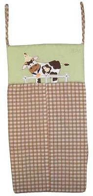 Farm Babies  Diaper Stacker By Nojo ,  Cow