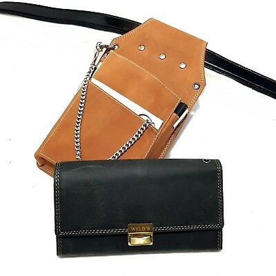 Leather Waitress Pouch Waitress Holster Waiter of Waiter Exchange Wallet Purse
