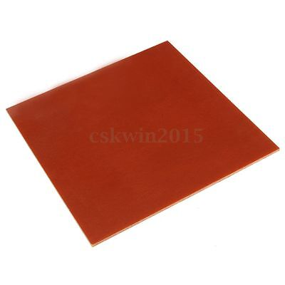 Bakelite Phenolic Resin Flat Plate Sheet 3mm x 200mm x 200mm for PCB Industry