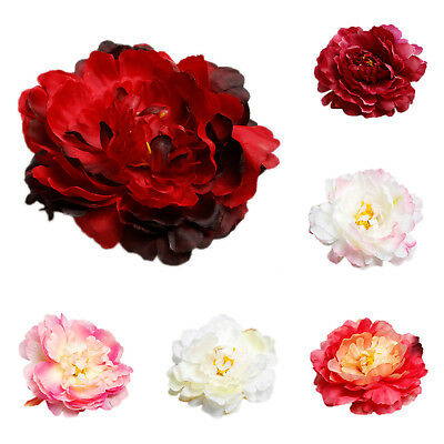 MXT Classic Creative Simulation large Silk Flower Peony Flower head hat clothing
