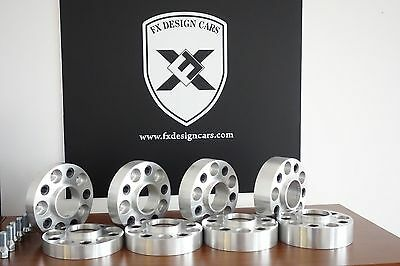 Wheel spacers fx PCD 5x112 55mm for Mercedes , Audi, VW