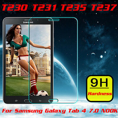 """Premium Tempered Glass Screen Protector for SAMSUNG GALAXY Tab 4 / 7"""" T230 T231"""