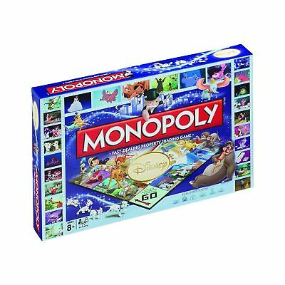Disney Classic Monopoly Christmas Birthday Gift Board Game - Brand New