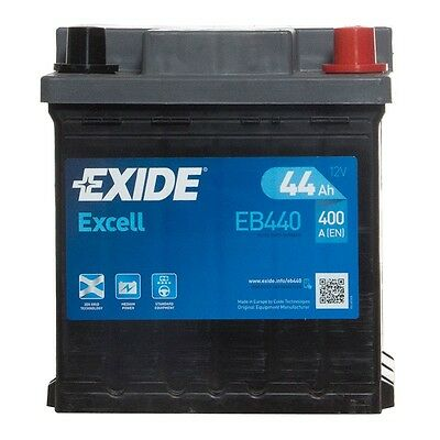 Type 202 Car Battery 320CCA Exide Excell 12V 40Ah 3 Years Wty Sealed OEM Quality