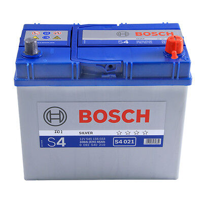 Type 158 Car Battery 300CCA Bosch 12V 45Ah 4 Years Wty Sealed OEM Replacement