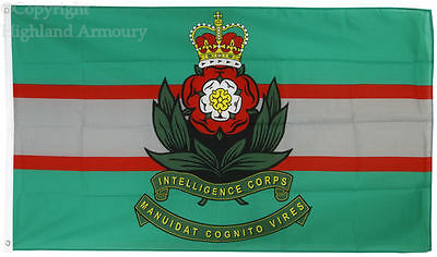 5' x 3' FLAG Intelligence Corps British Army Military Great Britain Flags ft New