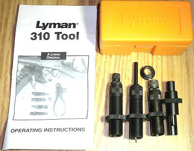 Lyman 310 Tool 4-Die Set 45 Colt (Long Colt) Small Handles Required  # 7020132