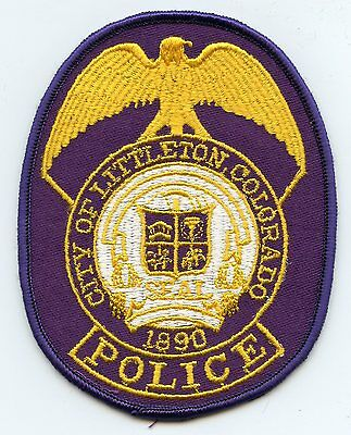 Littleton Colorado Co Police Patch