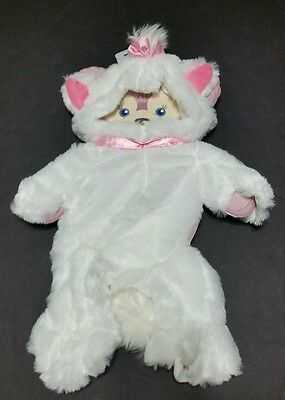 Disney Parks Shelliemay Marie White Kitten Soft Outfit New Pink White
