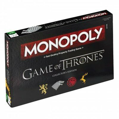 Game of Thrones Monopoly Game Collectors Edition