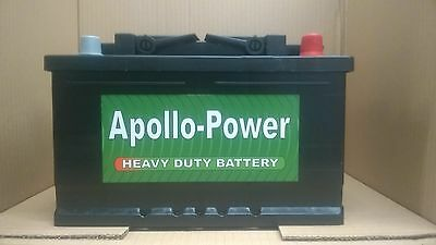 OEM Replacement Heavy Duty Car/Van Battery TYPE 096 12V 70AH 3Yrs Warranty